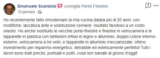 Recensione Scandola Emanuele
