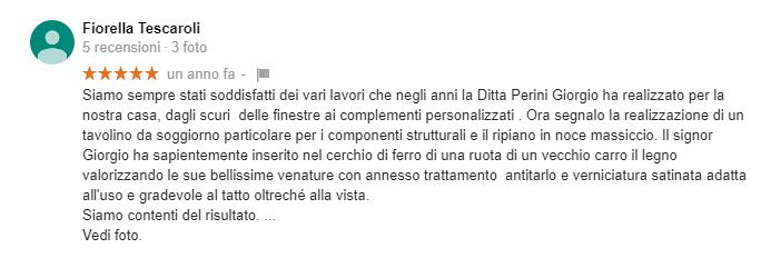 Recensione Tescaroli Francesca