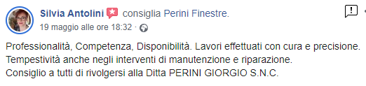 recensioni Perini Finestre