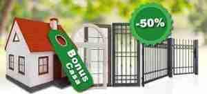 Sconto 50% finestre a Verona